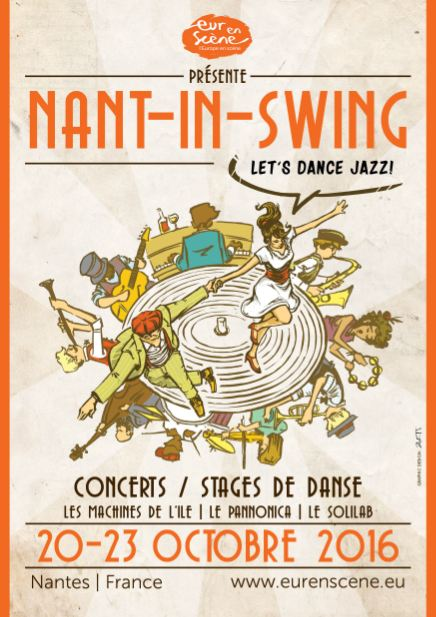 Affiche Nant-in-Swing